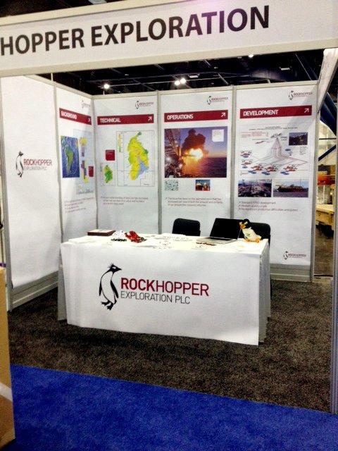 Rockhopper exhibition stand