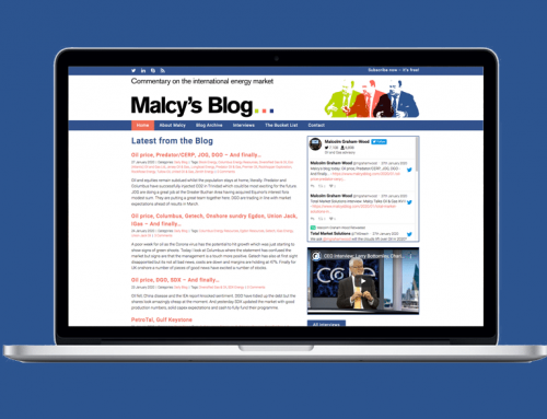 Malcy's Blog website