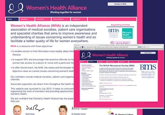womens health website