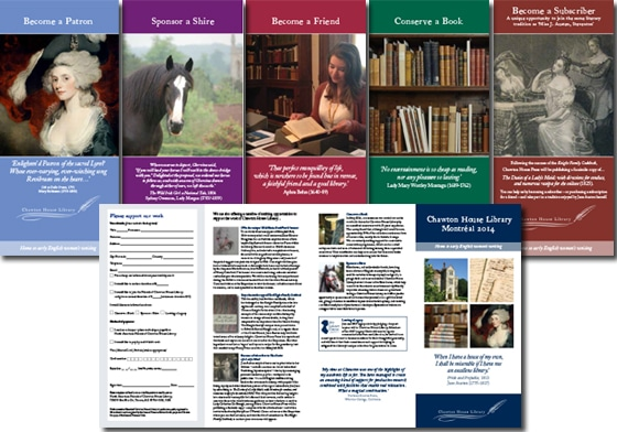 leaflet covers and insides