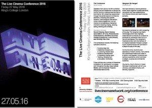 Live Cinema Network Conference