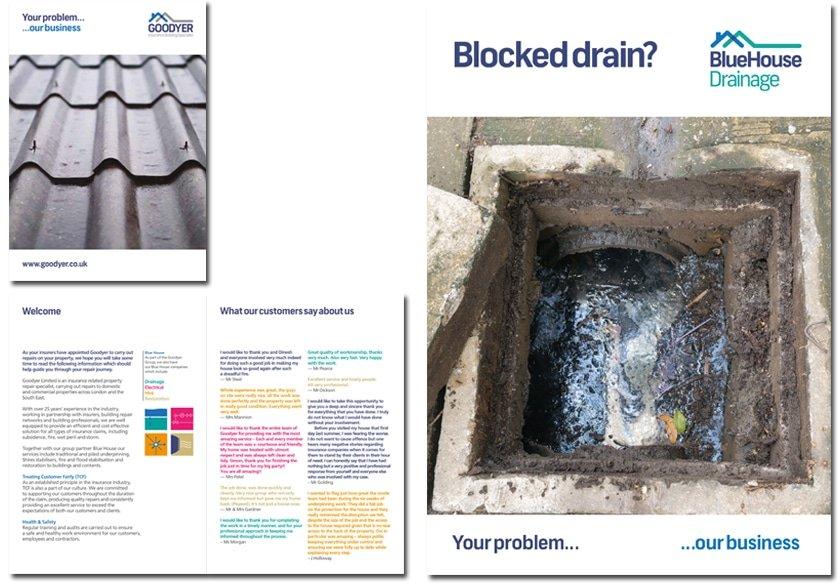 drainage leaflet