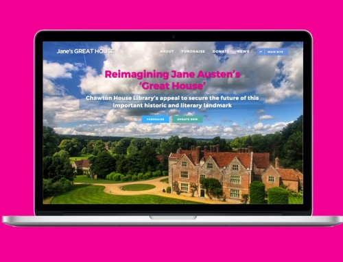 Jane's 'Great House' website