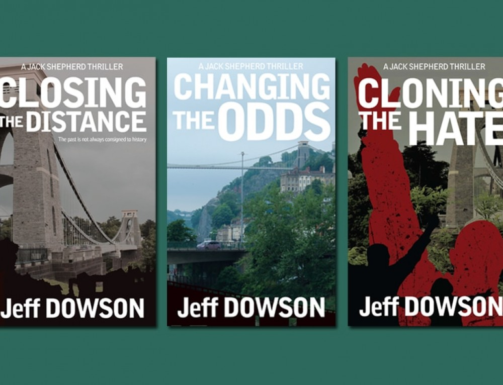 Jeff Dowson book covers