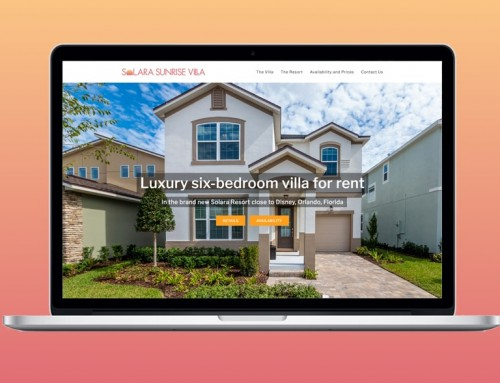 Solara Sunrise Villa website