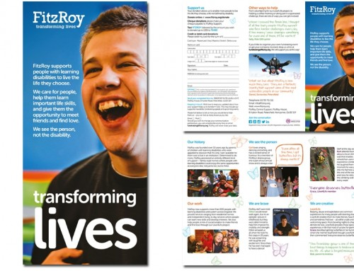 FitzRoy charity leaflet